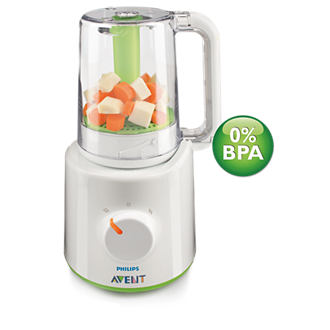 Philips AVENT Wasabi steamer blender